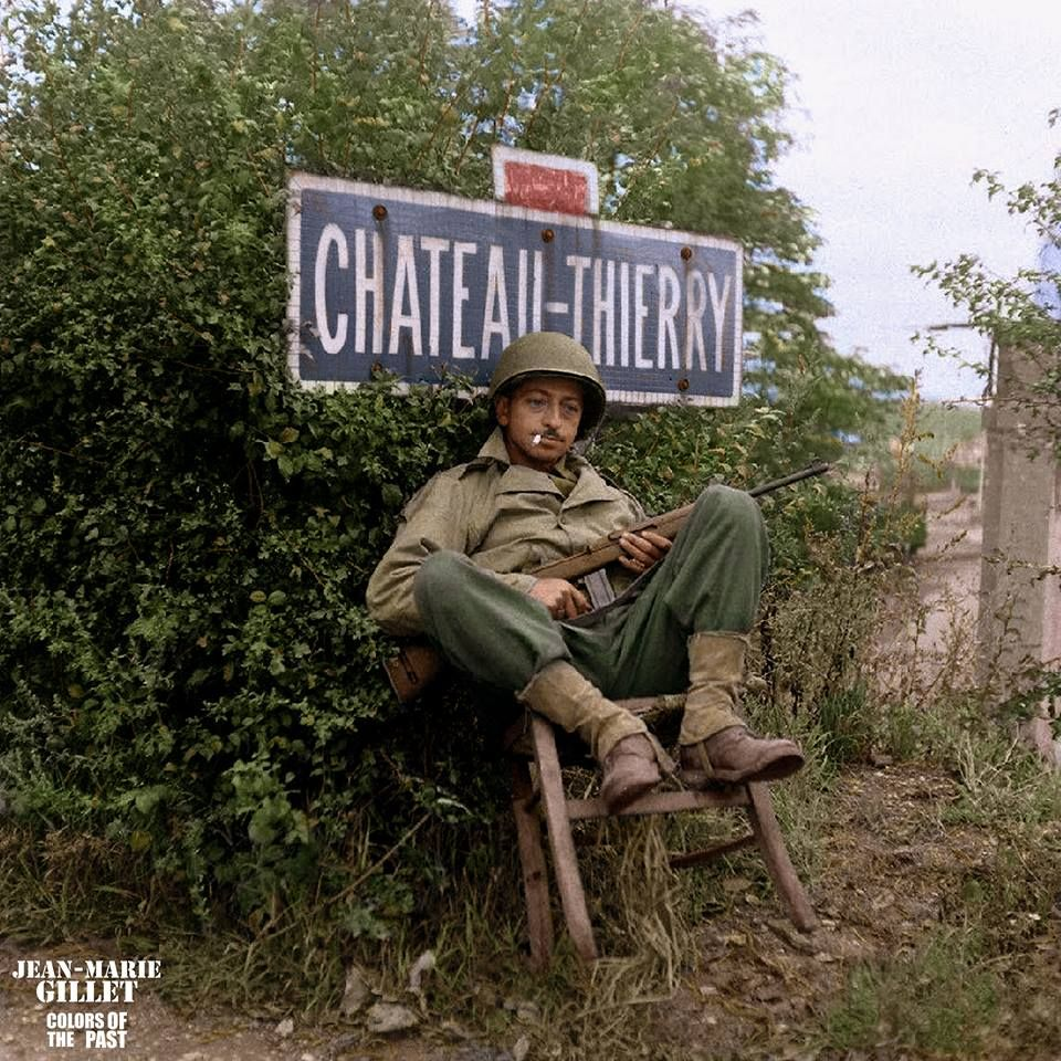 Liberation Château thierry 1944 E2888410