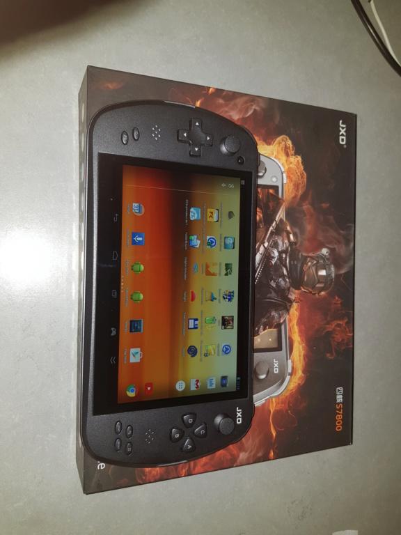 A vendre console JXD 7800B  VENDU 20181010