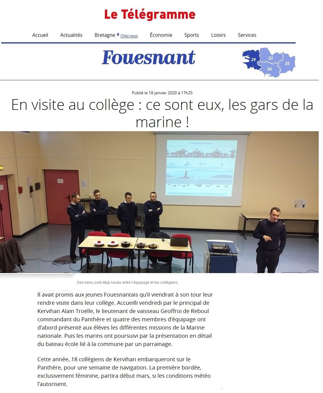 BE PANTHERE et sa ville marraine : FOUESNANT - Page 25 1020