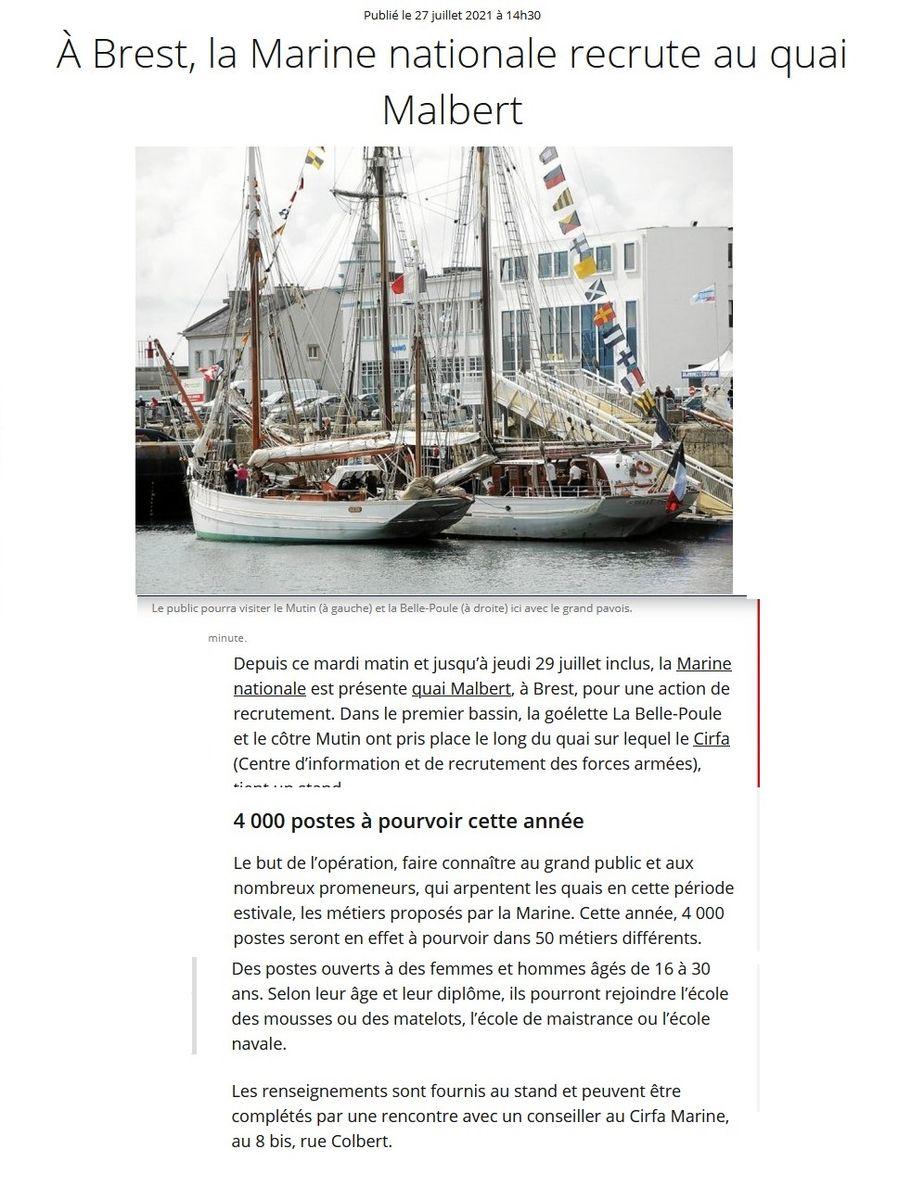 [Vie des ports] BREST Ports et rade - Volume 001 - Page 24 1108