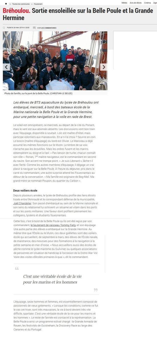 L'ÉTOILE ET LA BELLE-POULE (BE) - Page 24 135