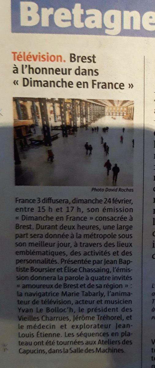 [Vie des ports] BREST Ports et rade - Volume 001 - Page 39 20190218