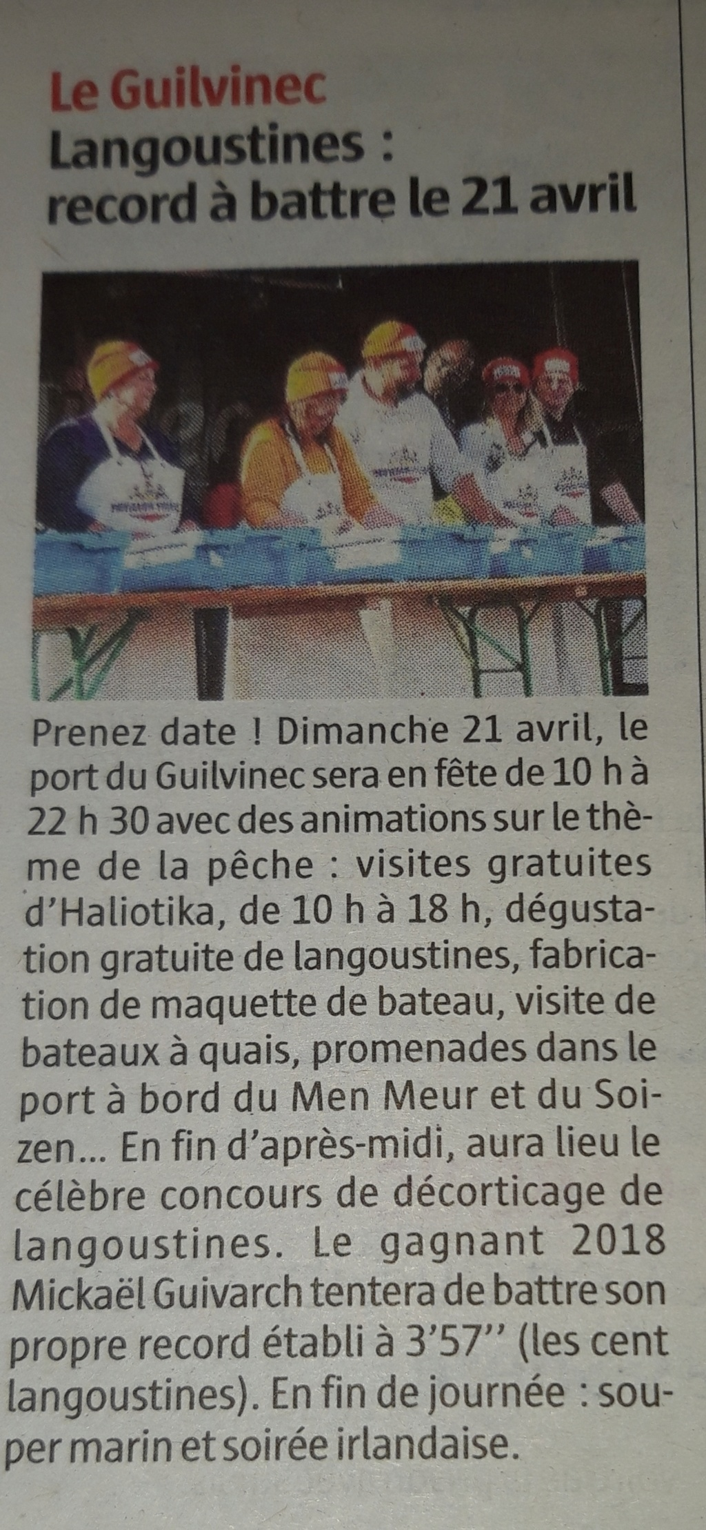 [Activité des ports] Le Guilvinec - Page 10 20190410