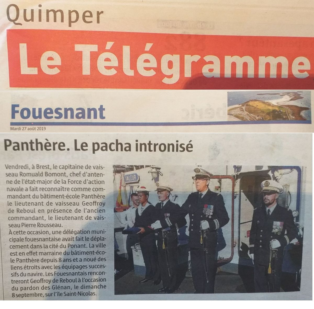 BE PANTHERE et sa ville marraine : FOUESNANT - Page 24 20190875