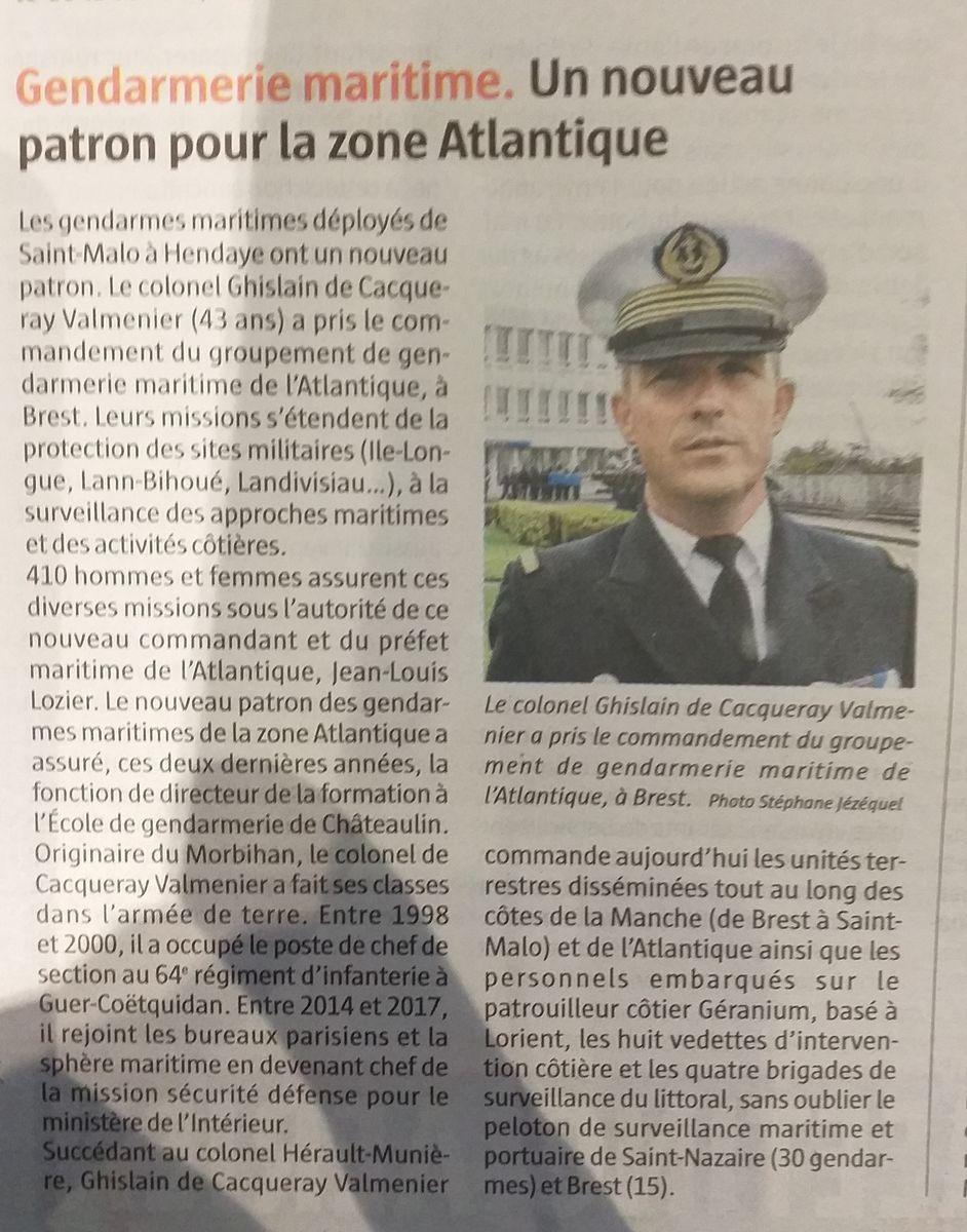 [Divers Gendarmerie Maritime] Un GendMar parmi vous - Page 4 20190952