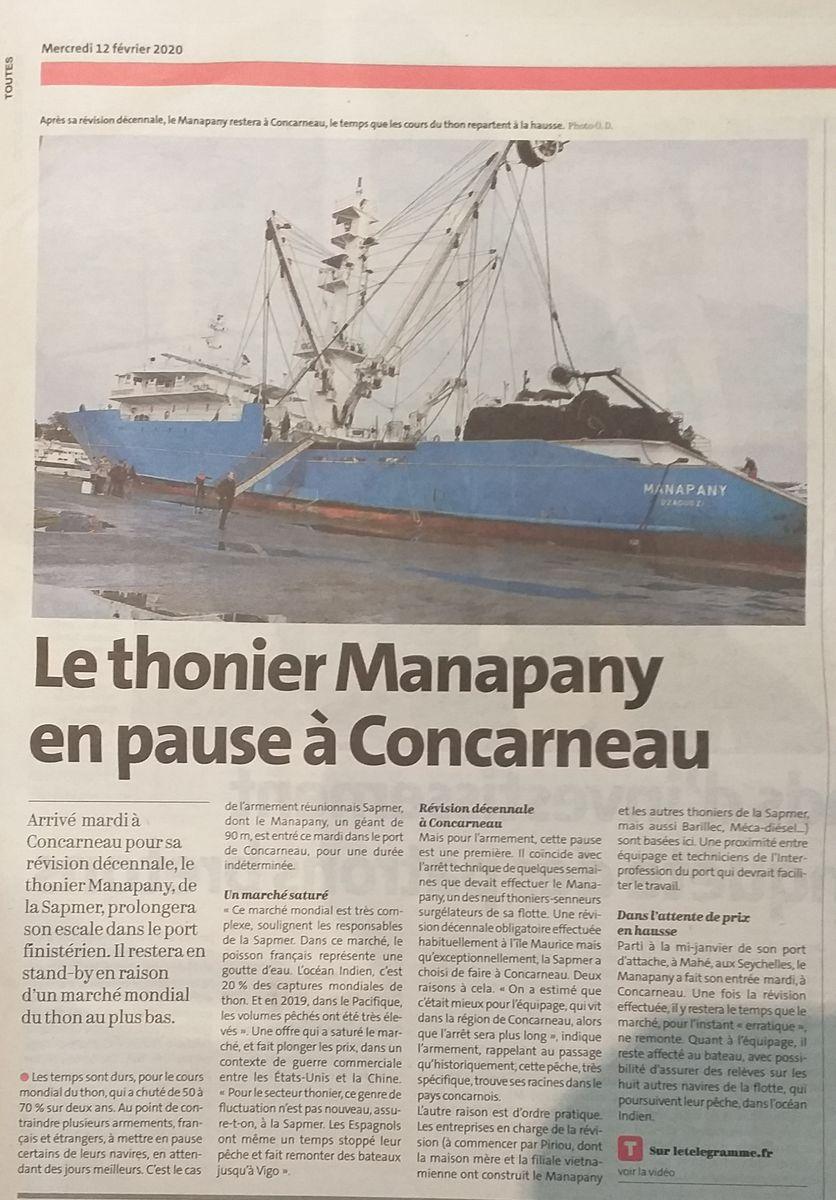 [Vie des ports] LE PORT DE CONCARNEAU - Volume 006 - Page 17 20200231