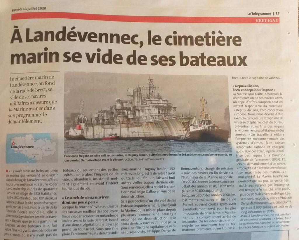 [Le cimetière des bateaux et du patrimoine de la Marine] Le cimetière de LANDEVENNEC - Page 29 20200711