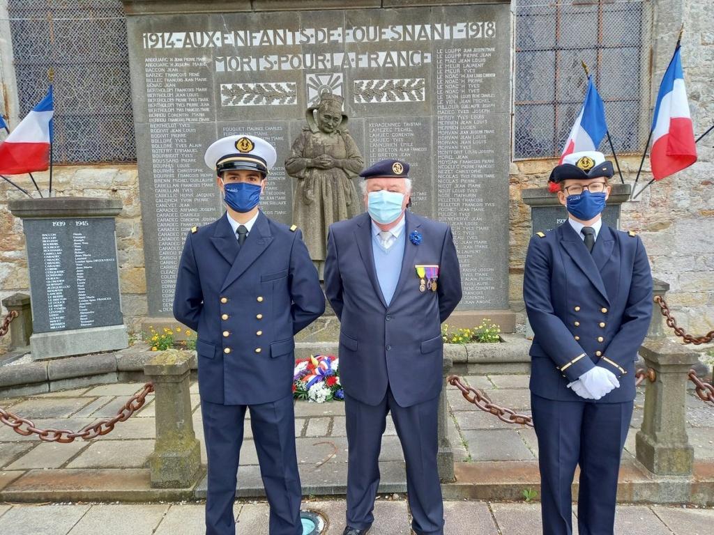 [ Histoires et histoire ] Commémoration du 8 mai 1945 à Fouesnant - Page 2 20210510