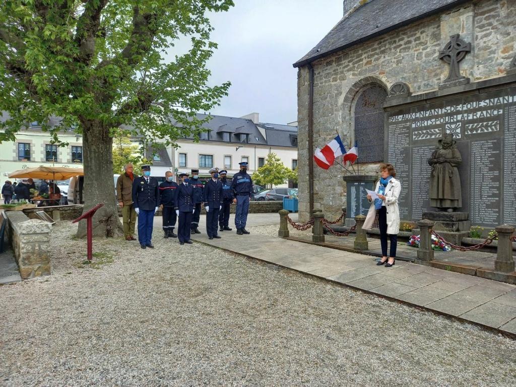 [ Histoires et histoire ] Commémoration du 8 mai 1945 à Fouesnant - Page 2 20210511