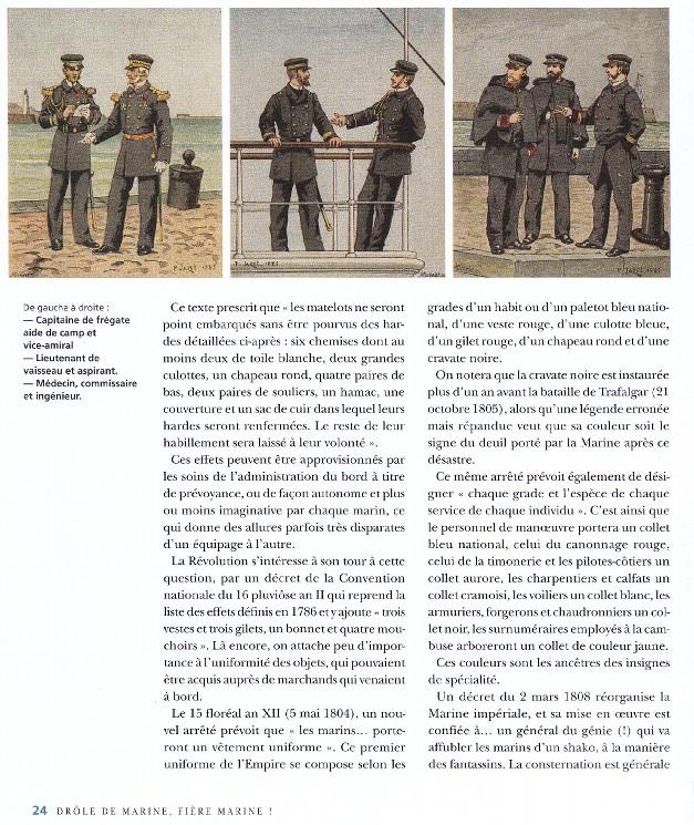 [LES TRADITIONS DANS LA MARINE] TENUE DANS LA MARINE- TOME 02 - Page 34 253