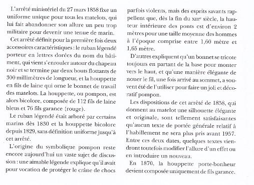 [LES TRADITIONS DANS LA MARINE] TENUE DANS LA MARINE- TOME 02 - Page 34 435