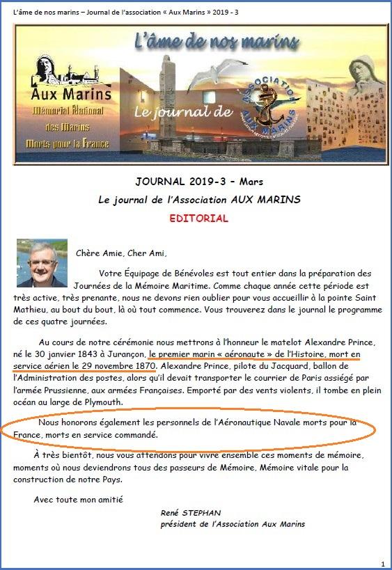 """[ Aéronavale divers ] Journées de la mémoire maritime honneur aux """"Aéros"""" morts pour la France Aero10"""
