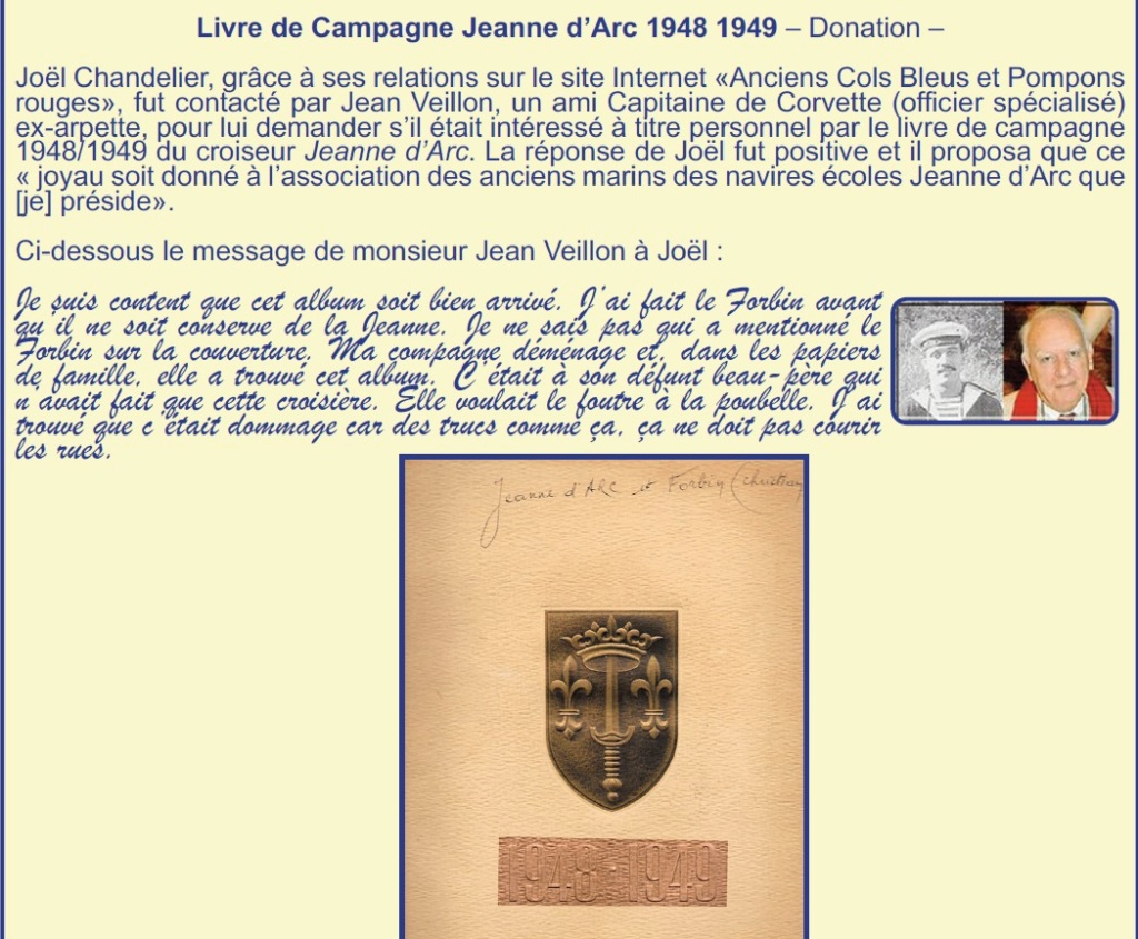 CROISEUR ÉCOLE JEANNE D'ARC - Page 15 Donati10