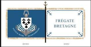 [ Divers frégates ] FREMM Bretagne  - Page 4 Fanion10