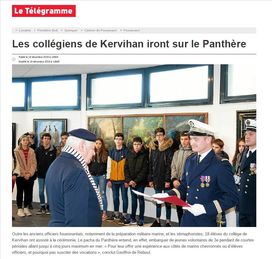 BE PANTHERE et sa ville marraine : FOUESNANT - Page 24 Le_tel11