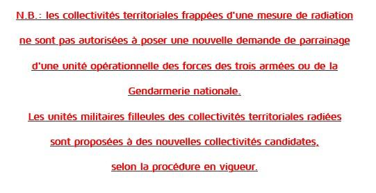 [Les traditions dans la Marine] Les Villes Marraines - Page 16 Nota11