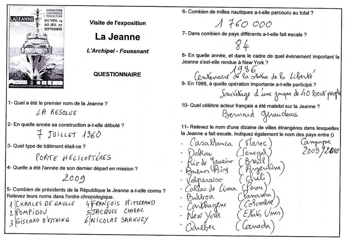 JEANNE D'ARC (PH) - VOLUME 4 - Page 21 Questi11