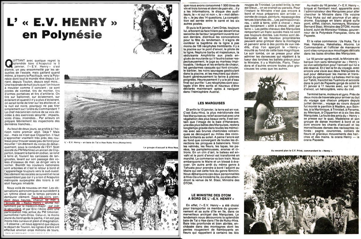ENSEIGNE DE VAISSEAU HENRY (AE) Tome 2 - Page 18 Radio_10