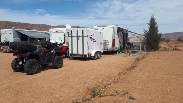 le confinement dans les campings au Maroc avril 2020 20200318