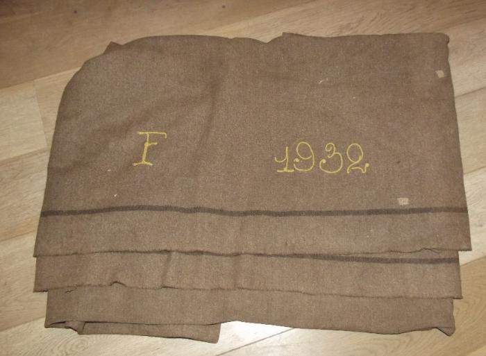 Couverture militaire française - estimation Couv110