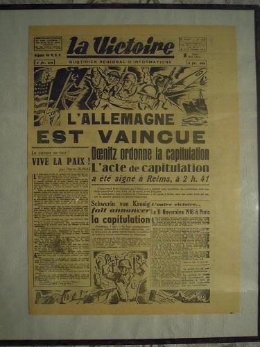 Mai-septembre 1945 : les journaux de la fin de la Seconde Guerre mondiale Dscn7737