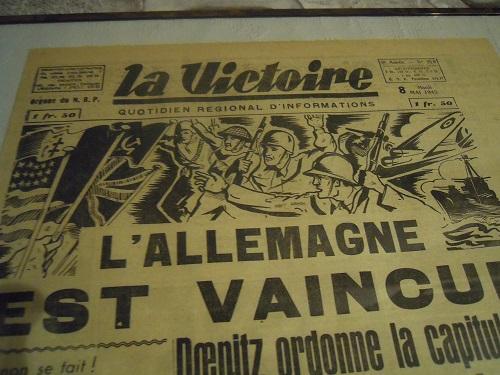 Mai-septembre 1945 : les journaux de la fin de la Seconde Guerre mondiale Dscn7740