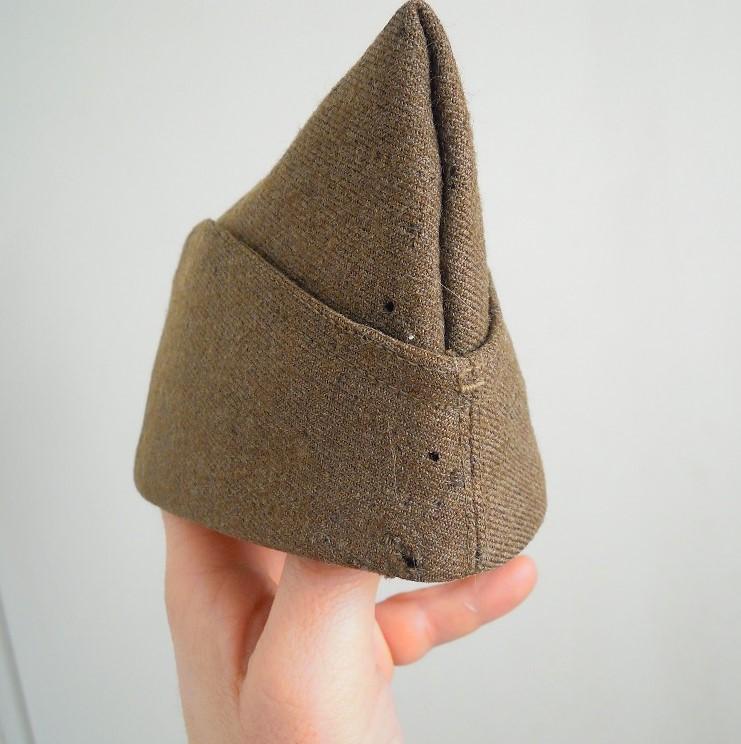 Bonnet de police reglo modèle 18 en drap peigné VENDU A CLOTURER Dscn9744
