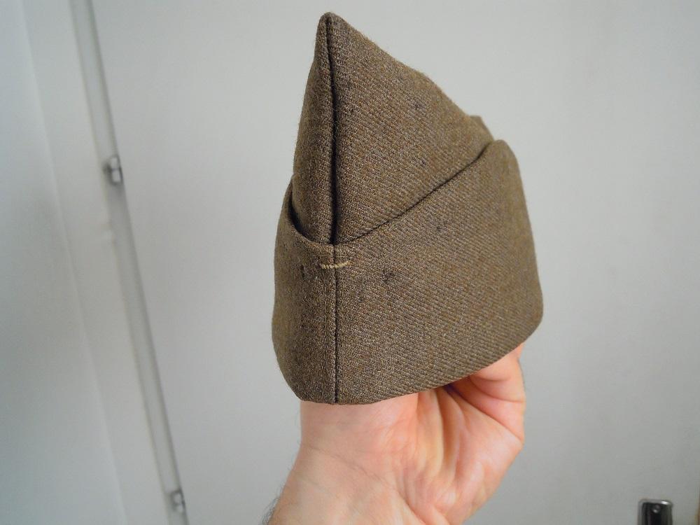 Bonnet de police reglo modèle 18 en drap peigné VENDU A CLOTURER Dscn9745