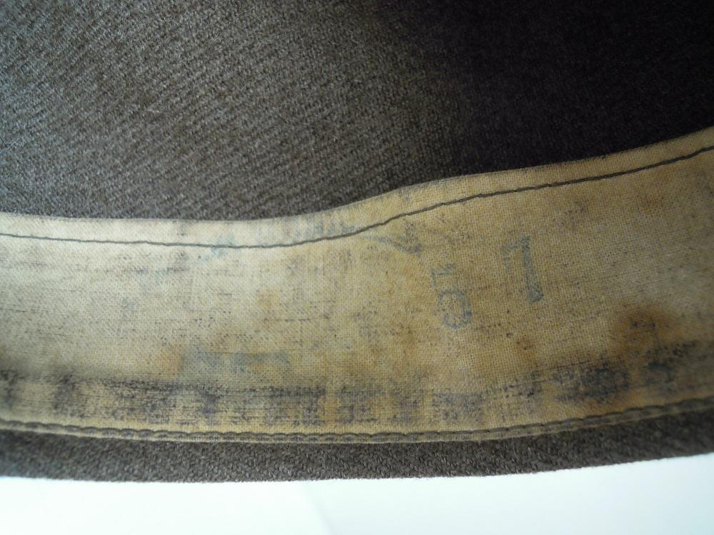 Bonnet de police reglo modèle 18 en drap peigné VENDU A CLOTURER Dscn9747