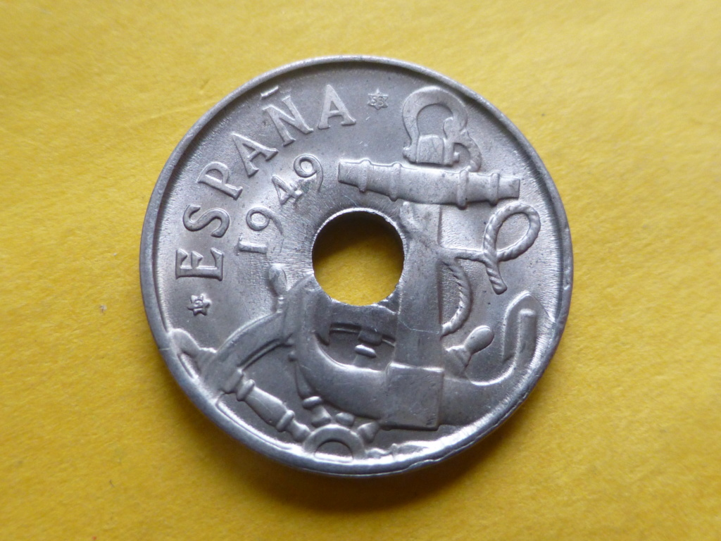 50 céntimos 1949 *53 troquelada P1100410