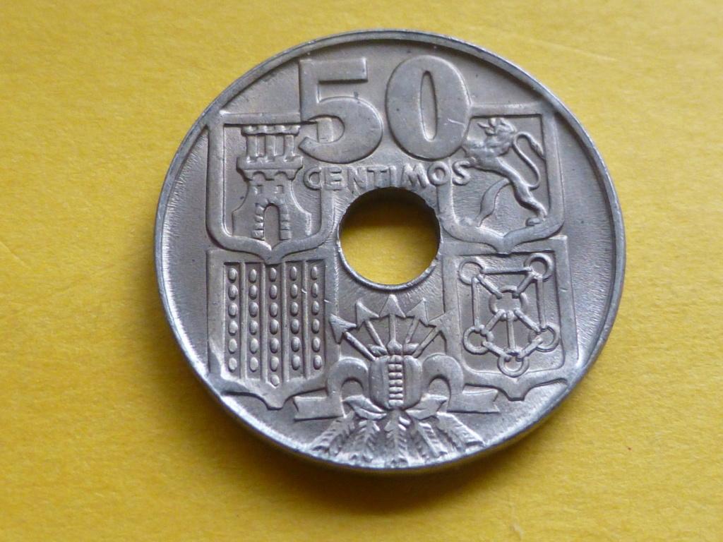 50 céntimos 1949 *53 troquelada P1100411