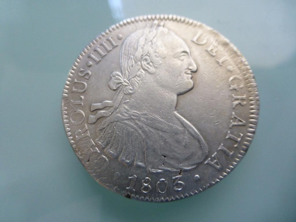 8 reales 1803. Carlos IV. México P1110210