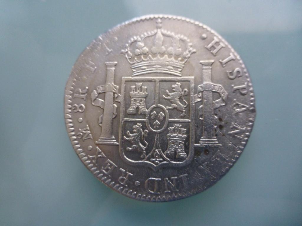 8 reales 1803. Carlos IV. México P1110211