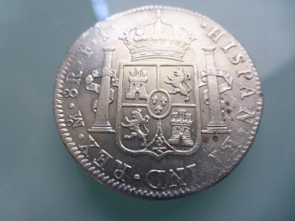 8 reales 1803. Carlos IV. México P1110212