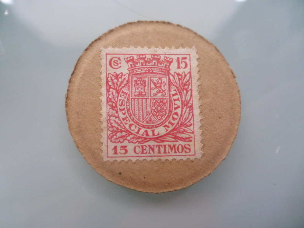 15 céntimos - sello moneda. ( II República) P1110213