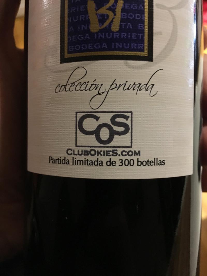 CONJUNTA VINO ALTOS DE INURRIETA RESERVA 15455111
