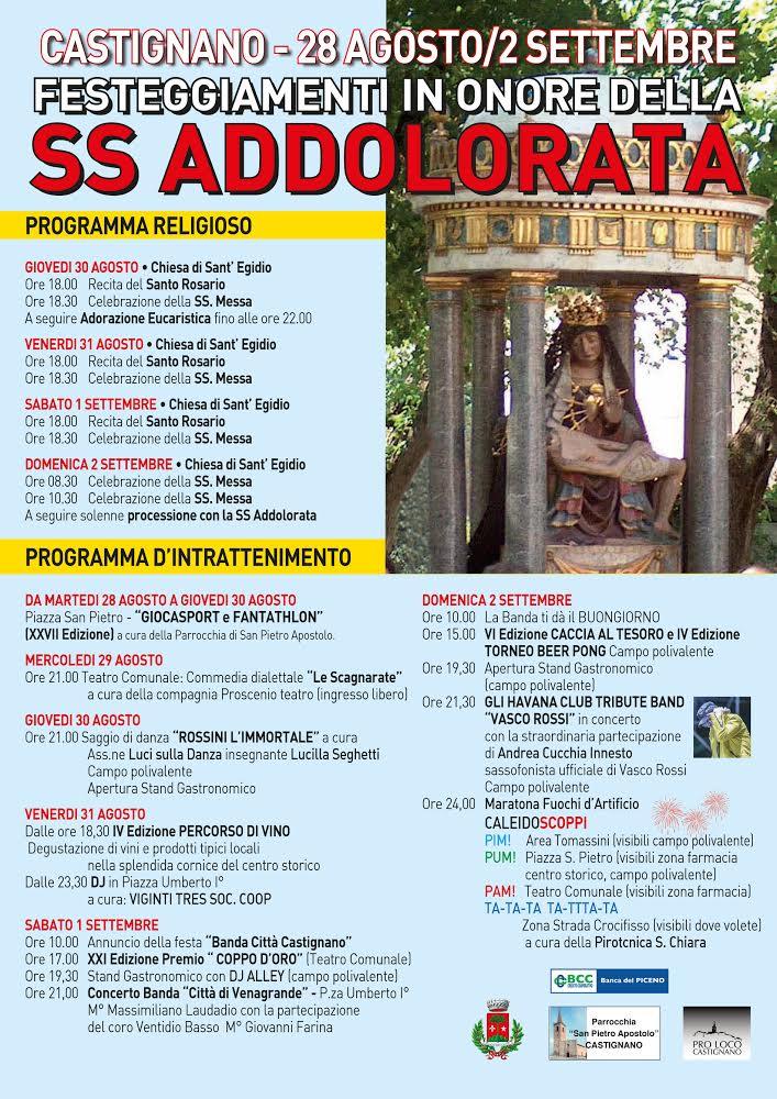 FESTA PATRONALE DI CASTIGNANO Unname11