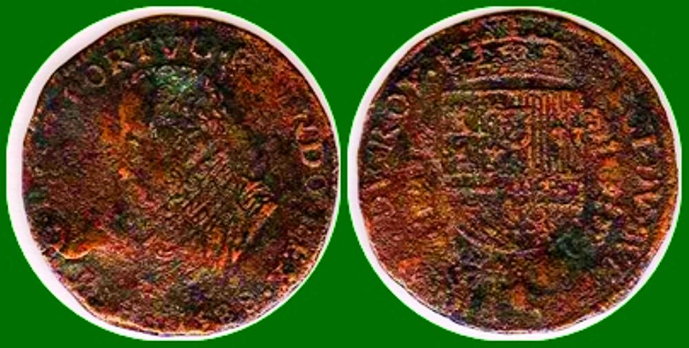 Jetón de Felipe II. 1588. Oficina de Finanzas del Rey 1588_f10