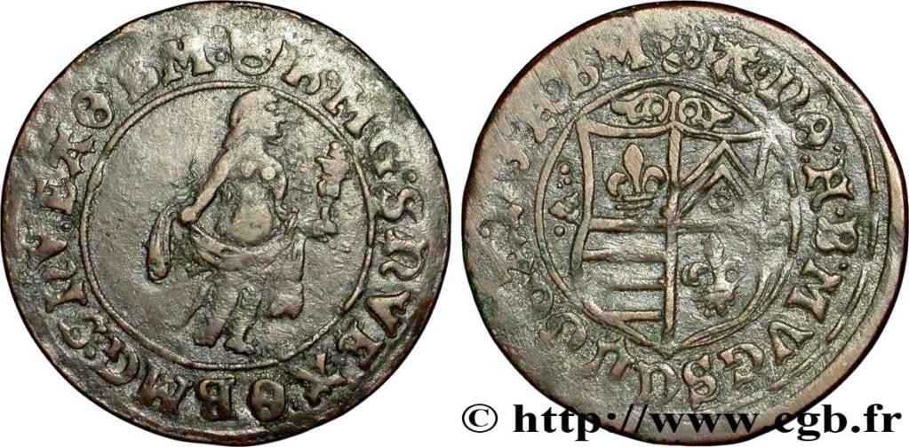 Jeton grande con escudo no identificado, puede ser de Nuremberg. Fjt_0910