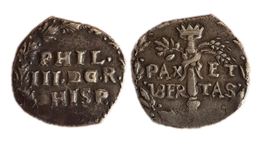 3 Cinquine S/F. Felipe III. Nápoles 110