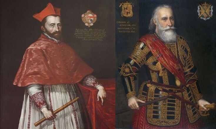Jetón holandés de 1599. La campaña del Cardenal Andrés de Austria en el Rin Carden10