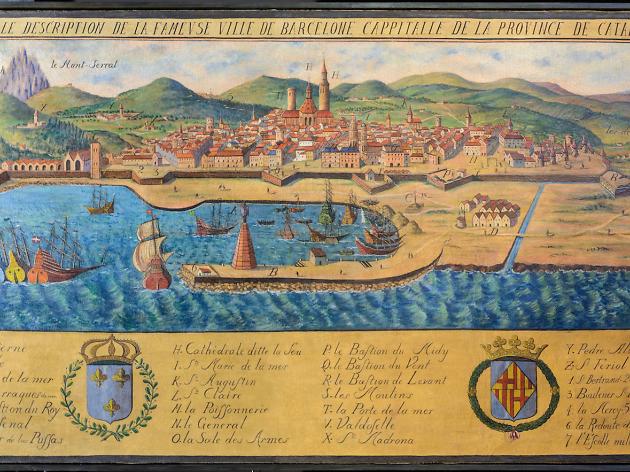1/2 croat 1612. Felipe III. Barcelona Ciudad11
