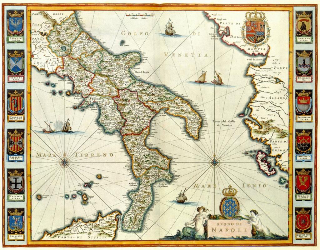 3 Cinquine S/F. Felipe III. Nápoles Reino_10