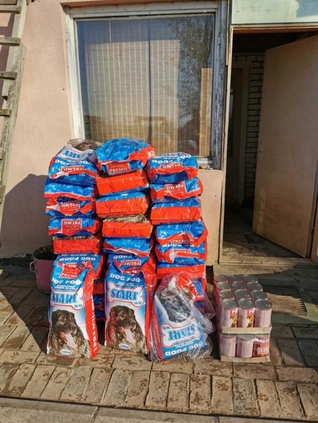 Appel aux dons  - Refuge de BELLA   :  Salaire  Employé  & Croquettes 0-02-011