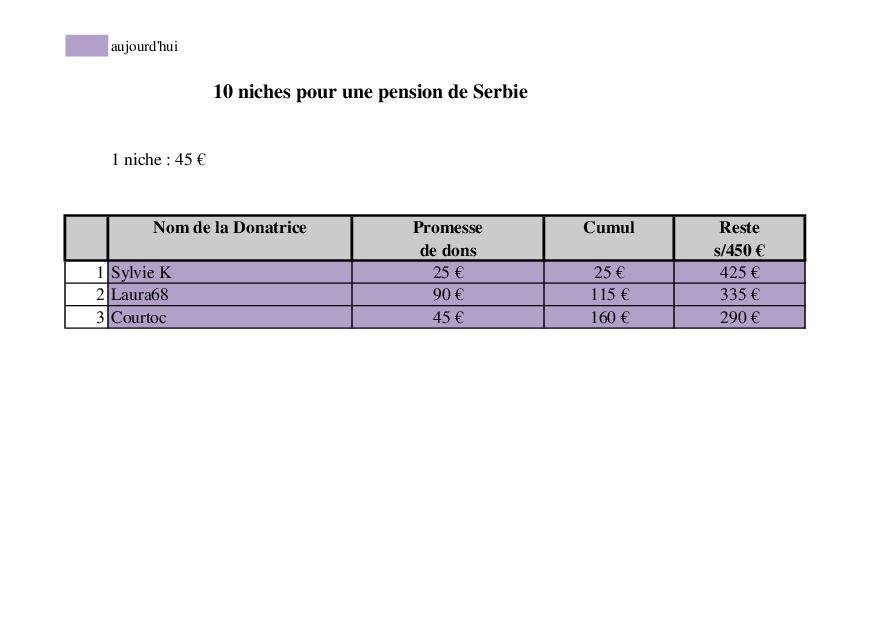 APPEL POUR LE FINANCEMENT DE 10 NICHES Niche_11