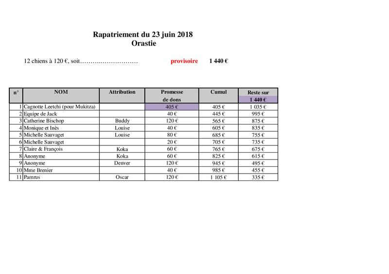TRANSPORT CAMION ORASTIE ROUMANIE -Arrivée LIEGE le samedi 23 JUIN 2018 - Rapatr20