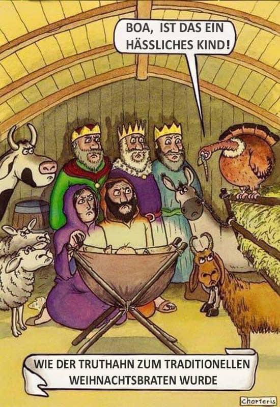 Wie der Truthahn zum traditionellen Weihnachtsbraten wurde 72334710