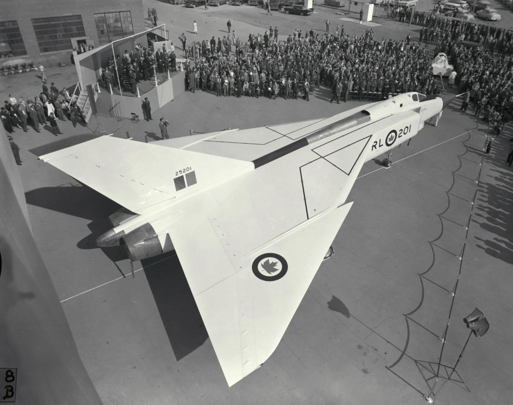 Le jet record qui hante encore un pays Avro_a12