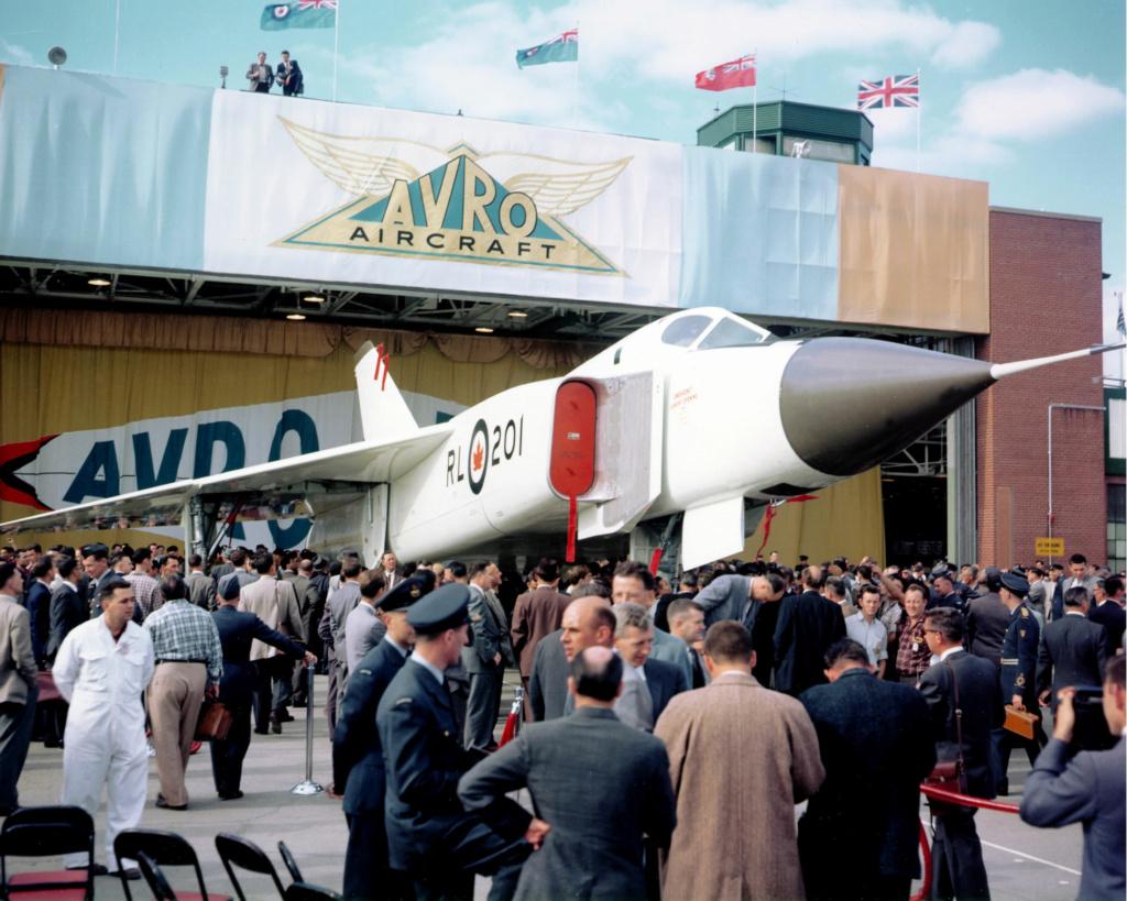 Le jet record qui hante encore un pays Avro_a15
