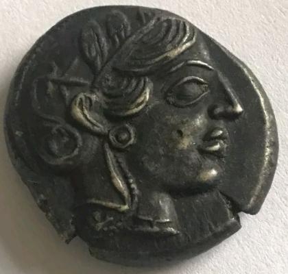 Tétradrachme Athènes  20181013